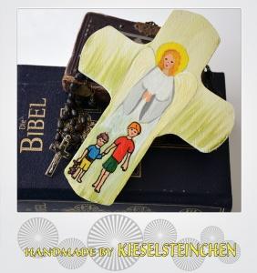 Taufkreuz Engelschutz
