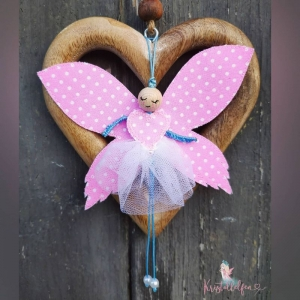 Kristallelfen ♥ eine Handvoll Glück ♥, handgenähte Glücksbringer für Dich oder als Geschenkidee, Beispielbilder, jede Elfe ist ein Unikat ☀ - Handarbeit kaufen