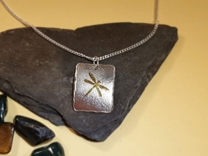 Silberanhänger Libelle - Handarbeit kaufen