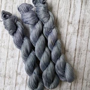 Twisted Cotton: Dünne handgefärbte Baumwolle  - Handarbeit kaufen