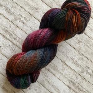 Fröliche Sockenwolle: Handgefärbte Sockenwolle