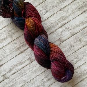 Handgefärbtes Garn: Single Merino Lace - Handarbeit kaufen