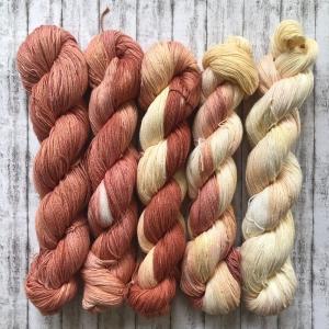 Fade Set #3: Baumwolle handgefärbt