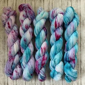 Fade Set #4: Baumwolle handgefärbt