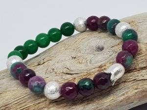 Armband aus Jade mit warmer Aussstrahlung kaufen - Handarbeit kaufen