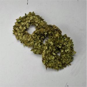 3er Set, Hortensiengrünkränzchen, Kränzchen, Bastelmaterial, Floristenbedarf,  - Handarbeit kaufen