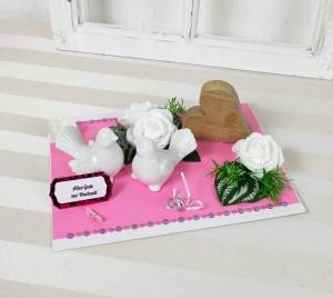 Geldgeschenk Hochzeit, Hochzeitsgeschenk, Geschenk zur Hochzeit, Geschenkschachtel, Brautpaar, Hochzeit,