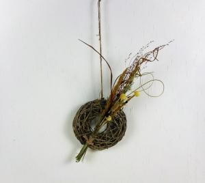 Türkranz, Trockenblumen, Kranz mit Trockenblumen Deko, Boho Stil - Handarbeit kaufen