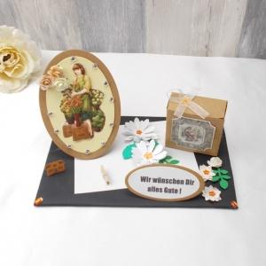 Geldgeschenk Geburtstag Floristin, Gärtnerin, Blumenverkäuferin, Blumenliebhaberin, Geburtstagsgeschenk - Handarbeit kaufen
