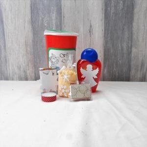 Kleines Geschenk, Wellness im Becher, Weihnachtsgeschenk, Wichtelgeschenk nr. 2 - Handarbeit kaufen