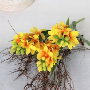 Hyazinthe gelb, Deko Blumen, Tischdeko, Floristikbedarf - Handarbeit kaufen