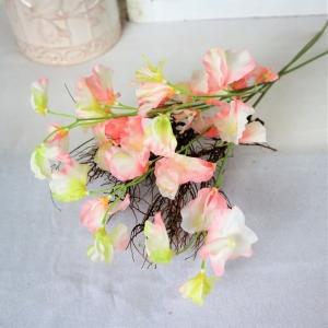 Lathyrus Bund Deko Blumen, Tischdeko, Platterbse, 3 Stiele pro Bund, pro Stiel 2,95 Euro, rosa, Floristikbedarf - Handarbeit kaufen