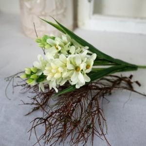 Hyazinthe weiß, Deko Blumen, Tischdeko, Floristikbedarf - Handarbeit kaufen