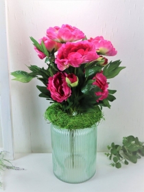 Pfingstrose pink, Deko Blumen, Floristikbedarf - Handarbeit kaufen