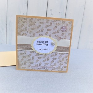 Glückwunschkarte Geburtstag, Geburtstagskarte, Karte zum Geburtstag, eine Kleinigkeit - Handarbeit kaufen