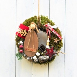 Türkranz Weihnachten Engel - Handarbeit kaufen