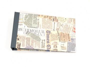 Ordner für Kontoauszüge Zeitungsartikel Buchbindehandwerk von Pappelapier - Handarbeit kaufen