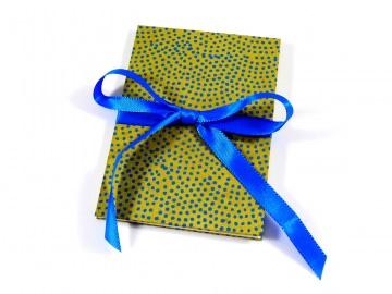 Leporello Fotoalbum Faltbuch kleine Punkte Buchbindehandwerk von Pappelapier - Handarbeit kaufen