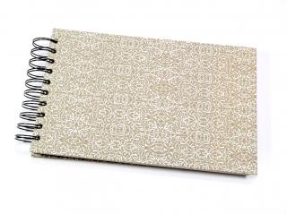 Tagebuch Skizzenbuch Notizbuch Rezeptbuch mit Spiralbindung Buchbindehandwerk von Pappelapier