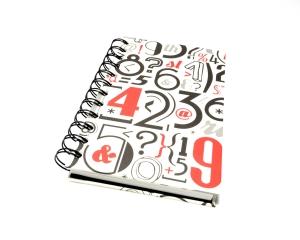 Notizbuch DIN A6 mit Spiralbindung Buchbindehandwerk von Pappelapier - Handarbeit kaufen