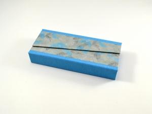 Stiftschachtel Stiftbox Griffelkasten Federn Buchbindehandwerk von Pappelapier - Handarbeit kaufen