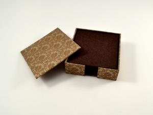 Schachtel mit 8 Filz-Untersetzern oder auch für Notizzettel - Handarbeit kaufen