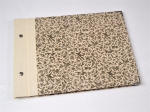 Fotoalbum Gästebuch DIN A4 Tauben  - Handarbeit kaufen