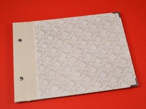Fotoalbum Gästebuch DIN A4 Ornamente - Handarbeit kaufen