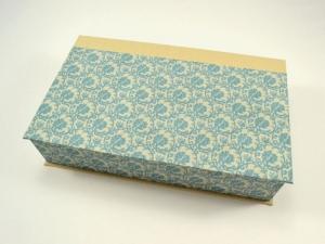 Schachtel mit Klappdeckel Ornamente - Handarbeit kaufen