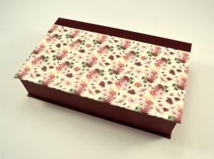Schachtel mit Klappdeckel Blumen - Handarbeit kaufen