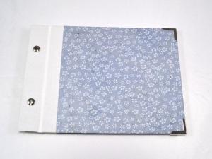 Fotoalbum Gästebuch DIN A5 Blumen  - Handarbeit kaufen