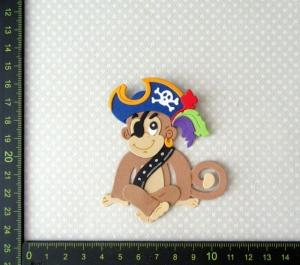 Scrapbooking  Stanzteil  Kartendeko  Kartenschmuck  supersüßer kleiner Pirat
