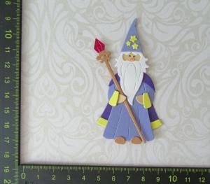 Scrapbooking  Stanzteil  Kartendeko  Kartenschmuck  Kleiner Zauberer - Handarbeit kaufen
