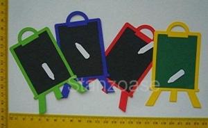 Stanzteile  Kartendeko  Kartenschmuck Scrapbooking Schultafeln  - Handarbeit kaufen