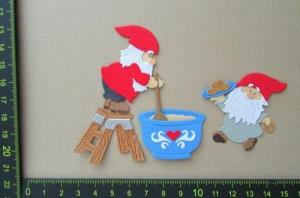 Stanzteil  Kartendeko  Kartenschmuck Scrapbooking Weihnachten - Handarbeit kaufen