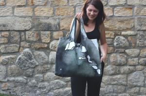 Shopper AQUA Shoppingbag XXL-Einkaufstasche Strandtasche Tasche Beutel