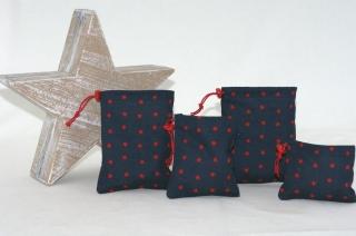 Stoffsäckchen/Stoffbeutel für Adventskalender aus Baumwolle