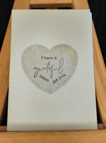 Grußkarte Liebeserklärung - Handarbeit kaufen