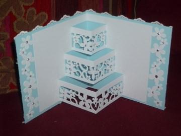 Pop-up Grußkarte Hochzeit Glückwunschkarte Hochzeitskarte - Handarbeit kaufen