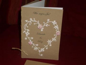 Vintage Einladungskarten Hochzeit Einladung Rustic Einladungen - Handarbeit kaufen