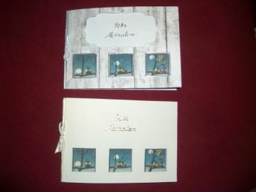 Einladungskarten Hochzeit Hochzeitseinladungen Eulen Einladungen - Handarbeit kaufen