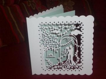 Einladungskarten Hochzeit Einladungen Vintage Boho - Handarbeit kaufen