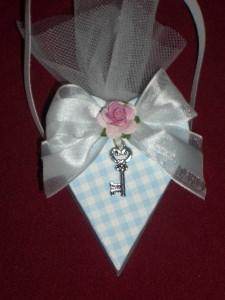 Herz Gastgeschenke Gästegeschenke Hochzeit Hochzeitsmandeln Schlüssel