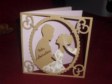 Einladungskarten Hochzeit Hochzeitskarten Einladungen Einladungskarte - Handarbeit kaufen