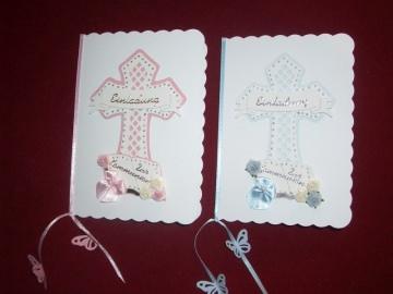 Einladungskarten Einladungen Kommunion Konfirmation Taufe Grusskarte Karte - Handarbeit kaufen