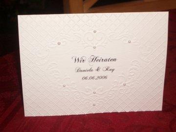Persönliche Einladung Einladungskarte Hochzeit Einladungen Einladungskarten Hochzeitskarten - Handarbeit kaufen