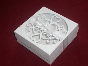 Gastgeschenke Keks Kartonagen Hochzeitskekse Bonbonieren Hochzeit  - Handarbeit kaufen