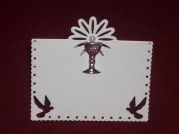 Tischkarten Kommunion Konfirmation Taufe Platzkarten Tischkarte Platzkarte  - Handarbeit kaufen