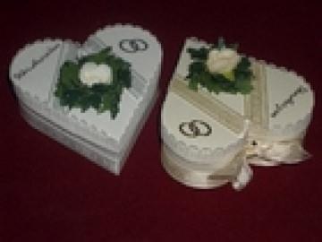 Gastgeschenke Gastgeschenke Gästegeschenk Hochzeit Herz Bonboniere Hochzeitsmandeln
