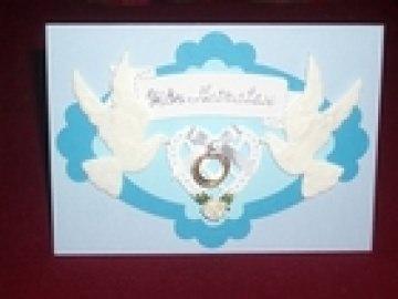 Einladungskarten Hochzeit Hochzeitseinladung Einladungen Einladung Einladungskarte Karte  - Handarbeit kaufen